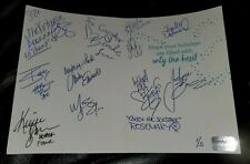 Holiday Card #2, autographed by 13 KNOCKOUTS w/ IMPACT Wrestling Hologram 1/5