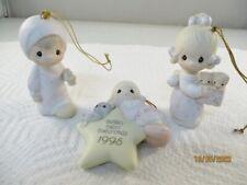 Precious Moments Ornaments - E0537, 142719, E0534