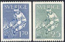 Sweden 1963 World Ice Hockey Championships/Sports/Games 2v set ex coil (n43557)