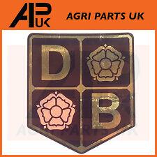 David Brown Tractor Sticker Decal Insignia Sombrero cono nariz Emblema Db 990,995,996