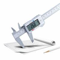 LCD Digital Electronic Caliper Ruler Vernier Gauge Micrometer Mechanist Tools