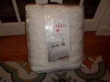 Nip Martha Stewart Whim White You Complete Me Pintucked Full/Queen Comforter Set