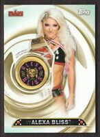 2019 Topps WWE Women's Division Championship Plate Patch #PC-AB Alexa Bliss /199