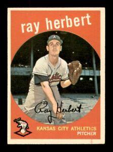 1959 Topps Set Break # 154 Ray Herbert VG-EX *OBGcards*
