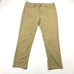 American Eagle Slim Khaki Golf Pants Polyester Mens 36x30