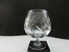 """Towle Crystal Infatuation Brandy Snifter Clear Cut 5 1/4"""" T"""
