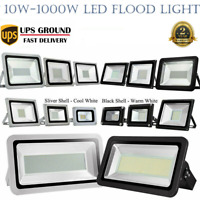 10W-1000W LED Flood Light Outdoor Garden Security Spotlight Cool/Warm White Lamp