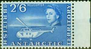British Antarctic 1963 2s6d Blue SG12 V.F MNH