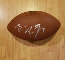 Steelers ben rothlisberger signed auto NFL football w/coa