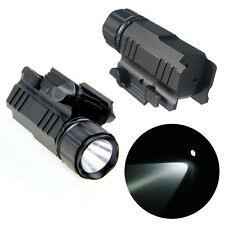 2 Tactical Modes Flashlight Pistol Flash Long Dual Bright  Aluminum Torch 200LM