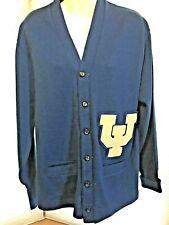 Vintage Univ. California Irvine Anteaters Varsity Letterman Sweater Hl Whiting
