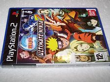 NARUTO ULTIMATE NINJA 2 - PS2 - UK PAL - NEW & FACTORY SEALED - Not Perfect