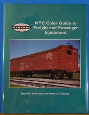NYC Color Guide to Freight and Passenger Equipment 1994 DJ Morning Sun Book