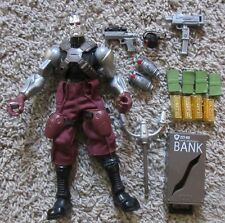 G.I. JOE CRIME BOSS DESTRO SIGMA 6 ACTION FIGURE 8' RARE SIX MONEY BAGS