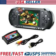 16 bit PXP Portable Video Game Handheld Console 150 Retro Megadrive Black