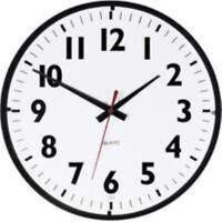"Westclox 14"" Office Black White Clock"