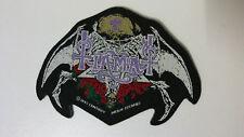 Tiamat bat shape 1993 Vintage music patch Sew On metal hardrock music