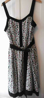 M&S Limited Collection floral 100 % silk dress  UK 20