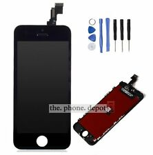 Full LCD Touch Screen Digitizer Display Front Glass Assembly For iPhone 5C Black