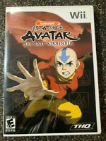 Avatar: The Last Airbender - Nintendo Wii - Complete w/ Manual - Free Ship