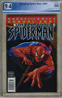 AMAZING SPIDER-MAN: 2001 ANNUAL (May 2001) PGX 9.4 (NM) Like CGC - White Pages