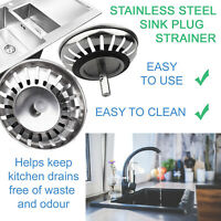 Premium Kitchen Sink Replacement Drain Waste Filter Plug Basket Strainer Drainer