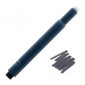 20 - Fountain Pen Refill Ink Cartridges for Lamy Pens, Black Storm, T10