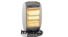 1200W Portable Electric Oscillating Halogen Heater 3 Bar Quartz Office Home