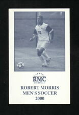Robert Morris Colonials--2000 Soccer Pocket Schedule--PNC Bank