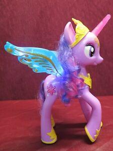 "My Little Pony Princess Twilight Sparkle FX Lights & Sounds 13"" Winged Unicorn"
