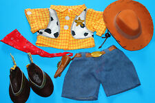 Build A Bear Toy Story Woody Cowboy Costume with Boots
