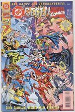 DC/Marvel Crossover # 2 + POSTER-lotta del secolo-Dino Editore 1996