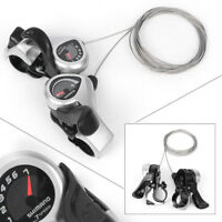 SHIMANO SL-TX50 3x7 21-Speed MTB Bike Bicycle Thumb Index Shifter w/ Cable Black