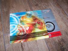 Prospectus / Brochure  GILERA Supermotard SMT 50 2004 //