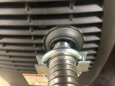 """GenExhaust for Honda EU2200i Generator 1"""" steel exhaust extension (3 foot)"""