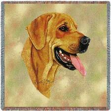 Lap Square Blanket - Rhodesian Ridgeback by Robert May 1943