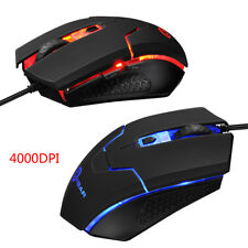 24ea155b0dc Ombar Portable USB Wired Optical Office Gaming Mouse Mice For Laptop PC  Macbook