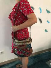 DESIGUAL joli sac à main en faux cuir et patchwork EXCELLENT ÉTAT