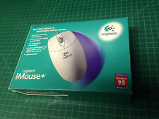 Logitec first mouse+ new in box - nice condition ball mouse 1997