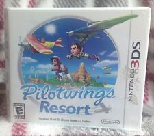 Pilotwings Resort 3DS Nintendo Game Console Handheld 2D Playable Great Condition