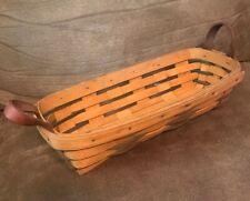 Longaberger Baskets 1997 (W8214) Small Bread / Treasure Collectible Basket