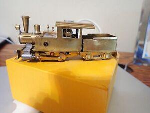 HOn3 Ken Kidder 0-4-0 Industrial Brass Engine