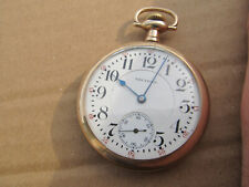 16 Railroad Grade - Antique Waltham Vanguard 23J Pocket Watch Size