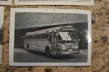 10 4x5 black and white vintage bus photographs