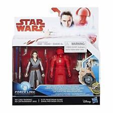 Hasbro Star Wars ForceLink Rey Jedi Training+Elite Praetorian Guard Figure *NEW*