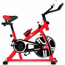 Adjustable Exercise Bike Bicycle Cycling Cardio Fitness LCD w/ 18lb Flywheel