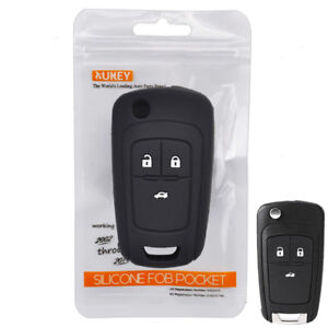 Silicone Key Cover Remote Case For Holden Barina Cruze Fob Holder 3 Button