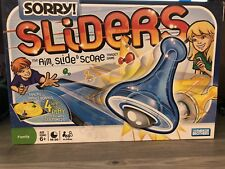 Sorry Sliders Board Game The Aim, Slide & Score Target Game Complete
