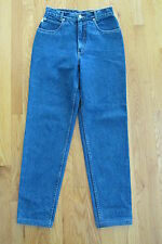 LAWMAN WOMEN'S JUNIOR'S SIZE 9 JEANS STONE WASHED TAPERED LEG MOM HIGH WAIST