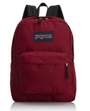 JanSport Classic SuperBreak Backpack Viking Red original bag school students NEW
